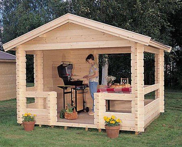 Летняя кухня своими руками очень простая конструкция 98