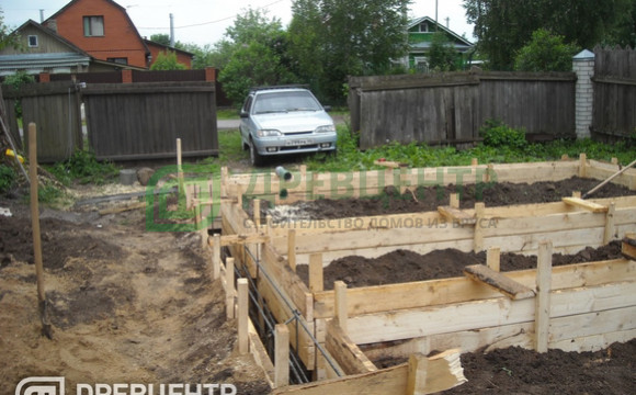 ленточный фундамент для дома 6х6